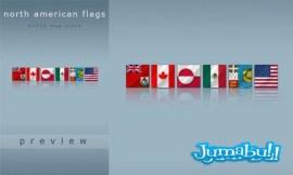 banderas norteamericanas - Banderas Norteamericanas en PNG