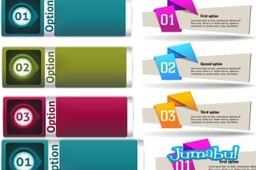 banners en vectores coloridos - Banners Coloridos en Vectores