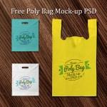 bolsas plastico mockup plantilla - Mock Ups de bolsas plásticas psd