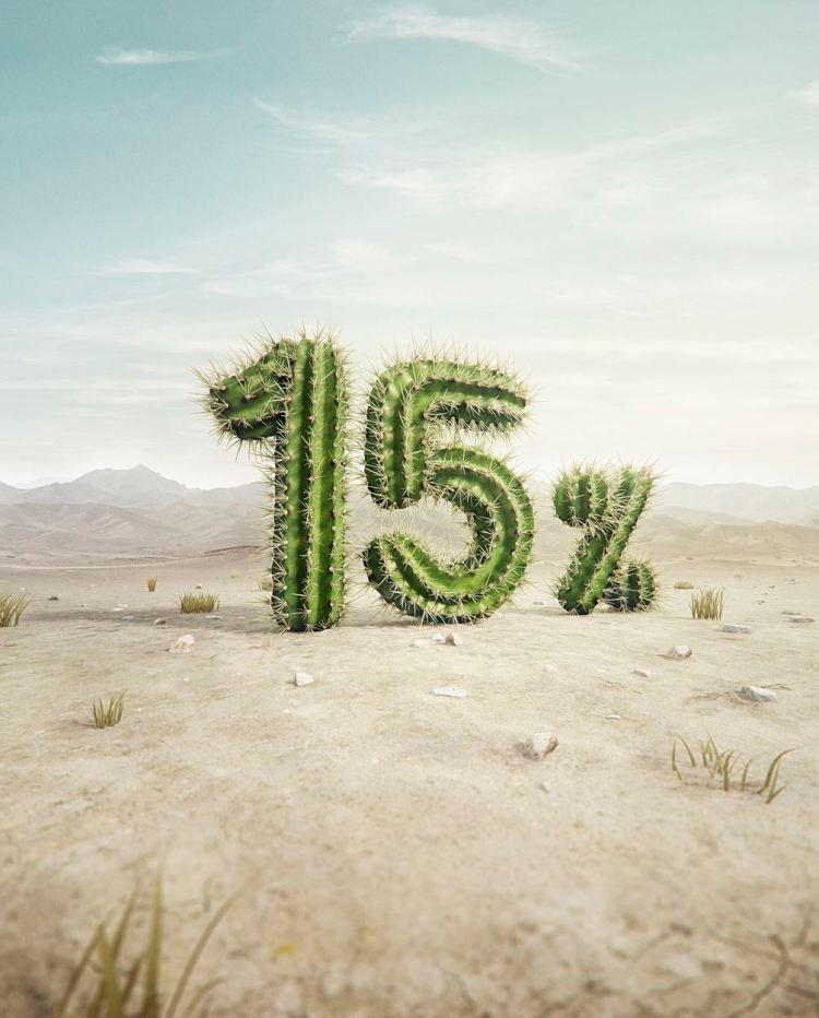 cactus 3d - Los mejores desarrollos en 3D de Pierre Bourjo