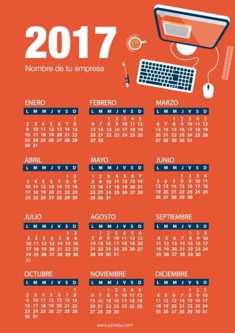 calendario 2017 para bajar gratis