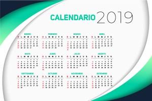 calendario 2019 traducido espanol - Calendario 2019 en español gratuito