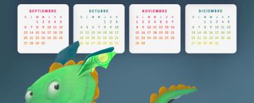 calendario 2020 en espanol ninos - Calendario 2020 en español infantil