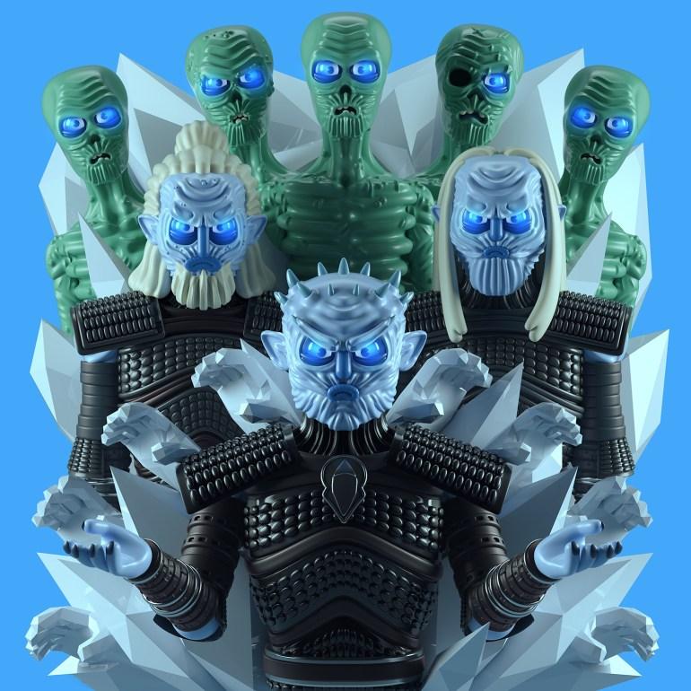 caminante blanco character design 1024x1024 - Conoce los personajes de Games of Thrones en 3D (Fan Art)