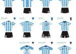 camisetas futbol argentina png - de Fútbol Argentina - Historial Indumentaria en PNG