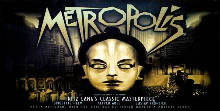 cartel de metropolis - 20 curiosidades sobre el diseño gráfico