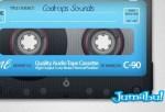 cassette html5 - Cassette Vintage en PSD y Animado en HTML5
