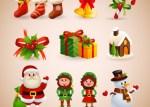 christmas collection 23 2147501399 - Vectores de Navidad Gratuitos