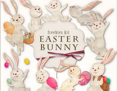 conejos huevos de pascuas - Imágenes en PNG de conejos con huevos de pascuas