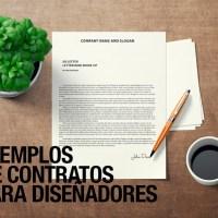 Modelos de Contratos para diseñadores gráficos, diseño web listos para descargar