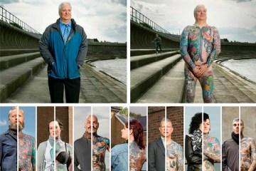 covered tatuados Alan Powdrill 02 humanos - Las apariencias engañan! Proyecto fotográfico.