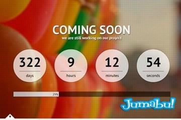 cuenta atras html - Cuenta Regresiva para el Lanzamiento de tu Website