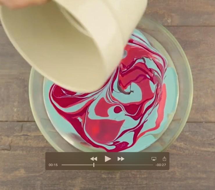 decorar macetero viejo - Decorar un macetero con pintura para uñas