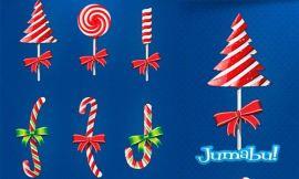 dulces navidad golosinas navidad - Dulces o Golosinas Navideñas en PSD