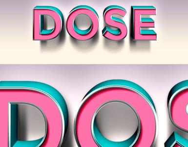 efecto 3d photoshop - Efecto de Photoshop para que tus textos se vean como en 3D