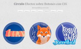 efectos css botones3 - Animación CSS para Botones Circulares (Hover Effect)