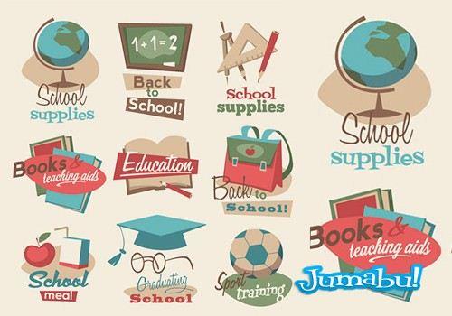 vintage-school-vectoriales