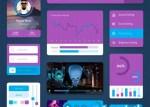 elementos web photoshop - Kit para Armar tu Diseño Web en Photoshop