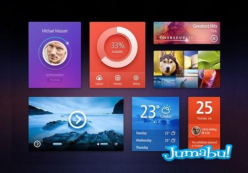 elementos-web-psd-widgets