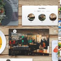 Estética para Restaurante en PSD para Bajar Gratis