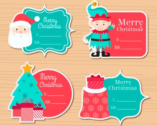 etiquetas-navidenas-para-ninos