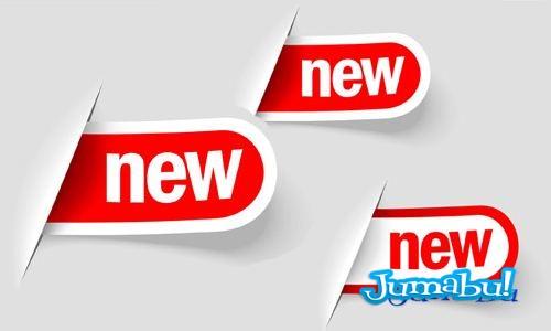 new-labels-modernas-vectorizadas