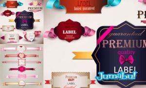 etiquetas vectorizadas enamorados rosas - Etiquetas para Regalos en Vectores