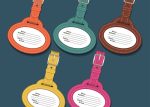 etiquetas viaje vectores gratis - Vectores Gratis - Etiquetas de Maletas de Viaje