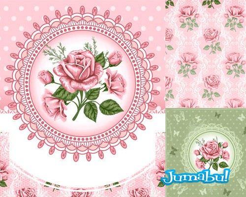 flores-rosas-en-vectores