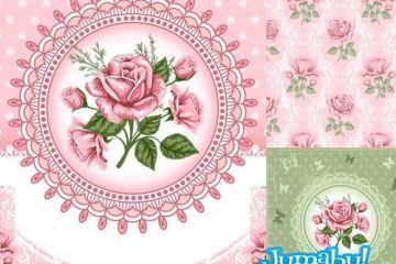 flores rosas en vectores - Rosas Vectoriales o Vectorizadas