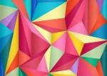 fondo triangular colores - Descarga Fondos Geométricos en Vectores Gratis