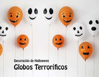 globos decoracion halloween - Decoración para Halloween