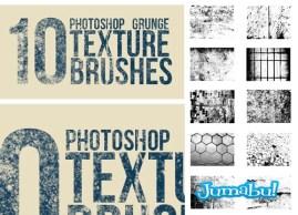 grunge brush photoshop - Brushes de Photoshop con Efecto Grunge en Alta Resolución