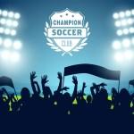 hinchada futbol vectorizada - Hinchada de Fútbol en Vectores para Descargar