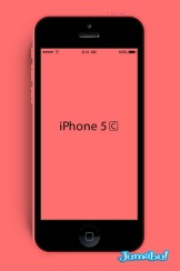 iPhone-5c-mockup-red
