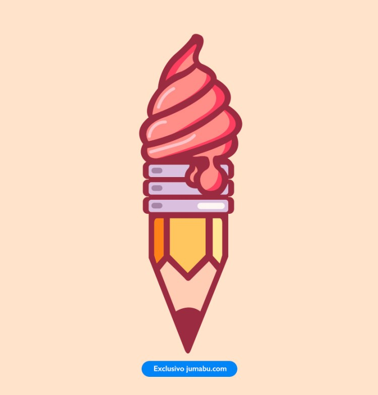 icecream-helado-icono-lapiz