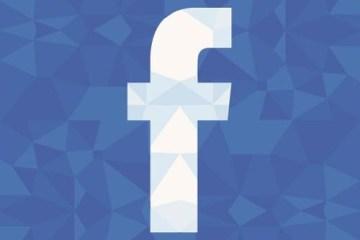 icono facebook poligonos - Icono de Facebook con Textura Poligonal en Vectores