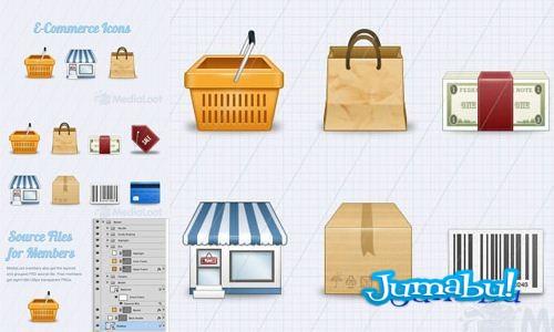 iconos ecommerce - Iconos de Comercio Electrónico