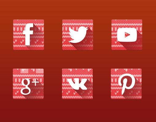 iconos-navidenos-redes-sociales