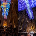iglesia mapping - Video Mapping en Iglesia de París por el gran Miguel Chevalier