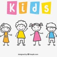 Vectores de Dibujos de Niños