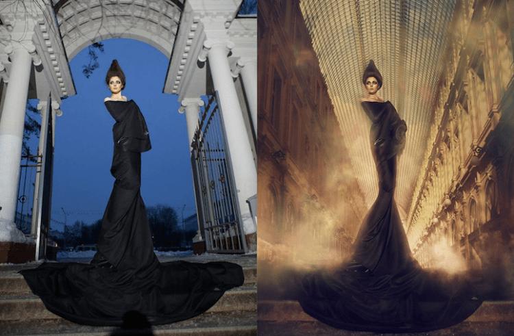 imagenes antes y despues de photoshop - Mujeres, paisajes, niños, antes y después de aplicarle photoshop!