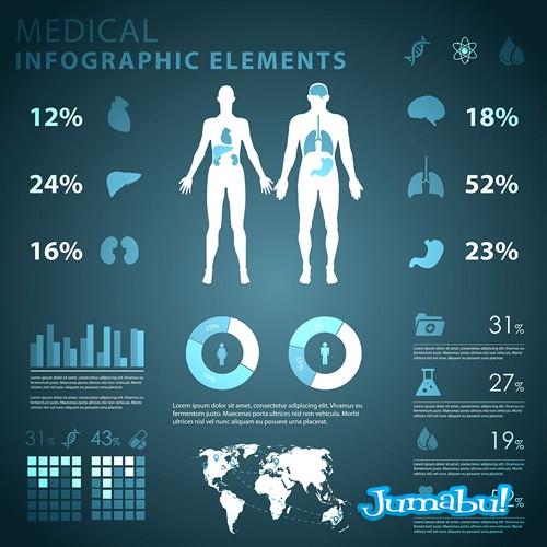 infografia-vectores-cuerpo-humano-medicina