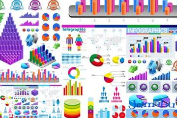 infografias multicolores - Infografías Multicolores