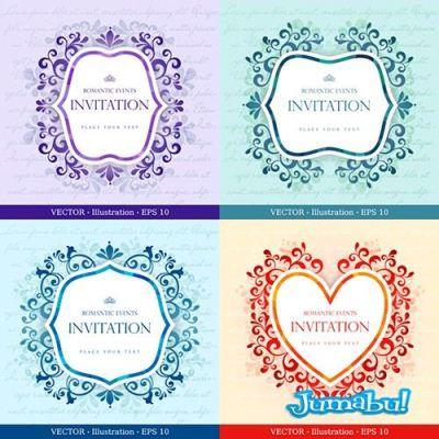ornamentales-arabescos-casamiento-tarjeta