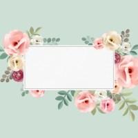 Invitación con estilo floral para agregar tu contenido