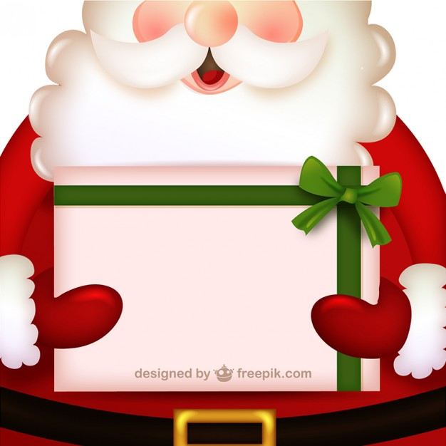 invitacion-navidena-santa