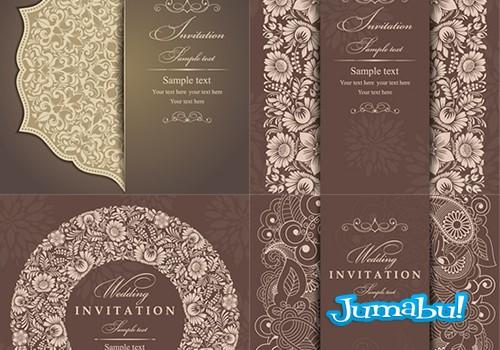 invitaciones-bodas-disenadas-vectores