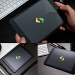 ipad mockups negra descargar gratis - Mockup de iPad Negra para Descargar