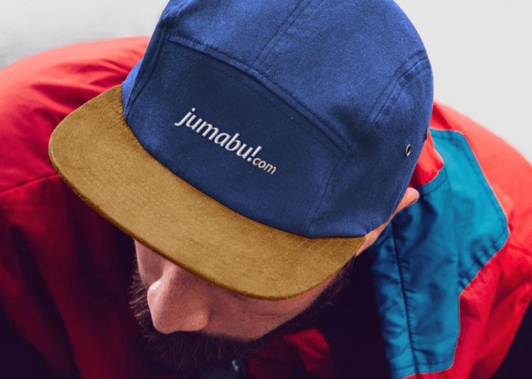 jumabu mockup gorra bicera - Photoshop MockUps de una gorra con vicera